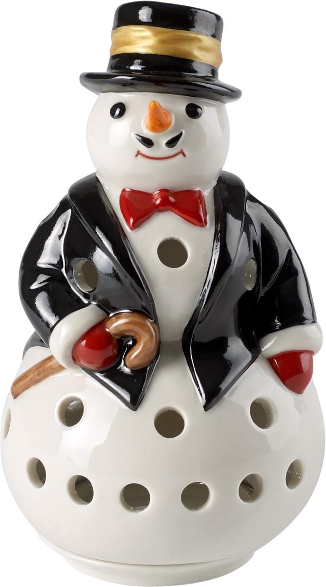 Suport lumanare Villeroy & Boch Christmas Light Snowman 12 5cm