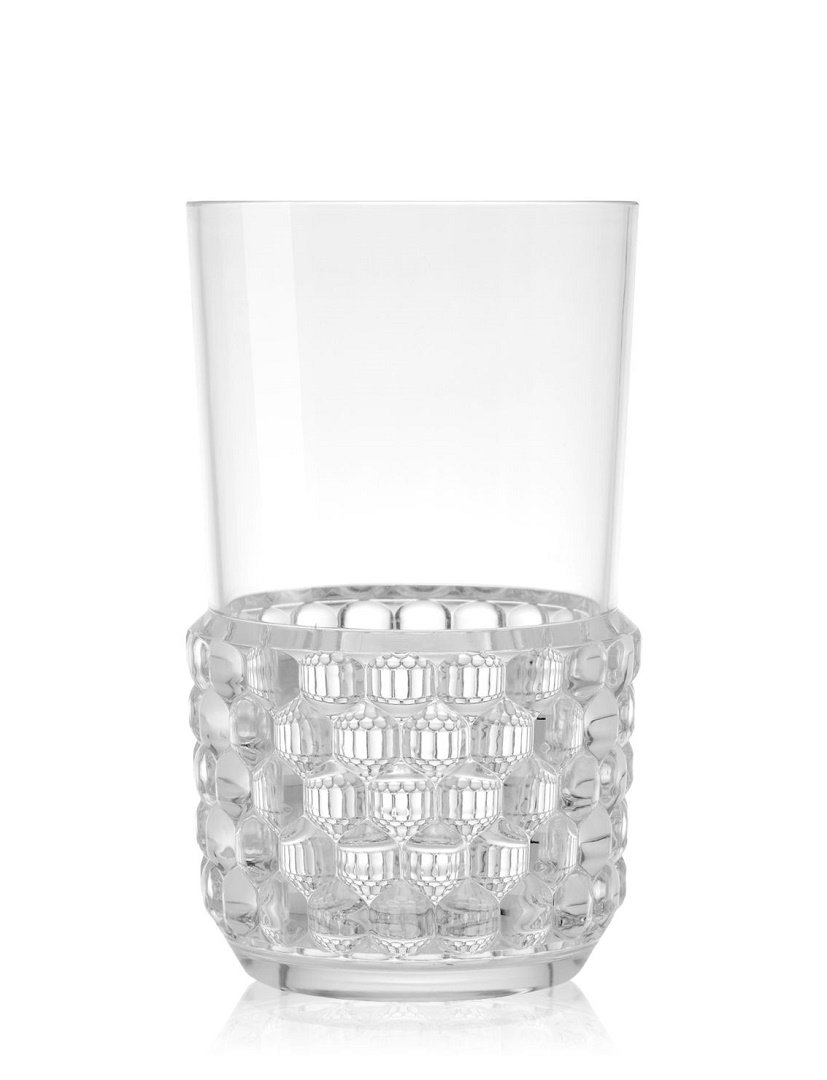 Pahar cocktail Kartell Jellies Family design Patricia Urquiola d 8.5cm h15cm transparent poza