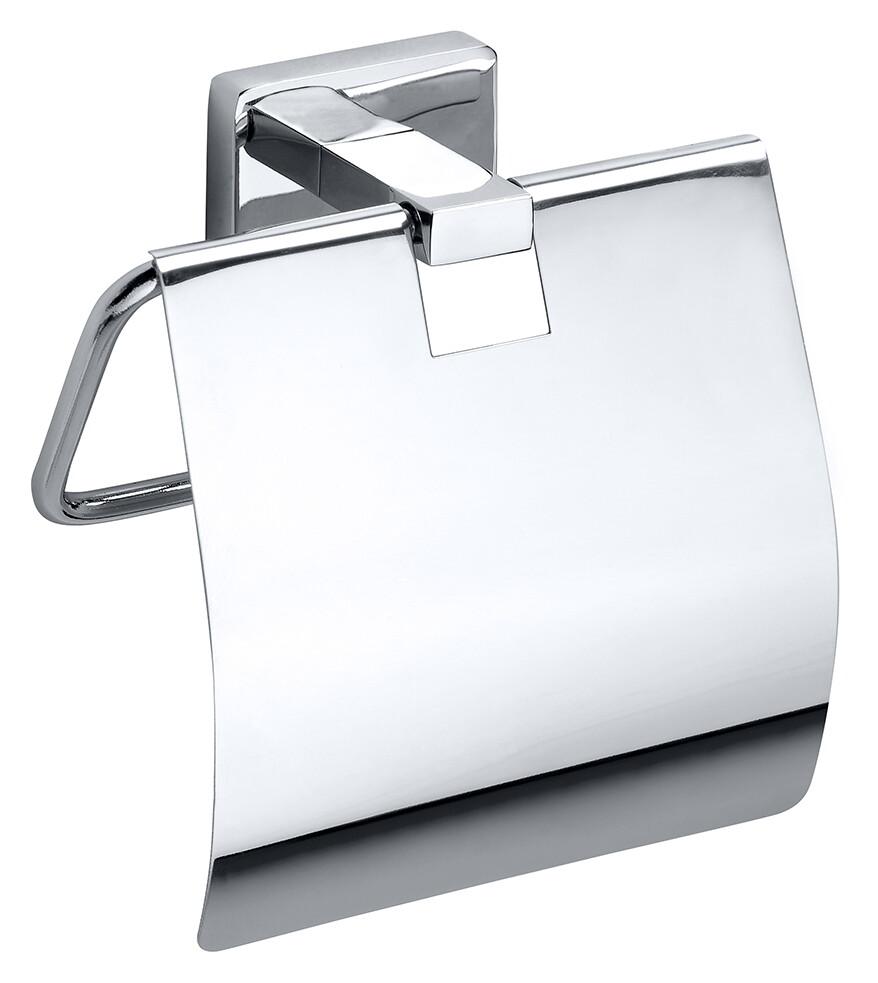 Suport hartie igienica cu aparatoare Bemeta Niki imagine sensodays.ro