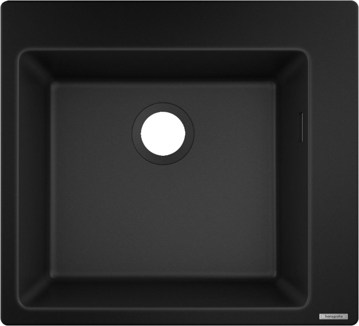 Chiuveta Hansgrohe S510-F450 SilicaTec 450 51x56x19cm graphite black