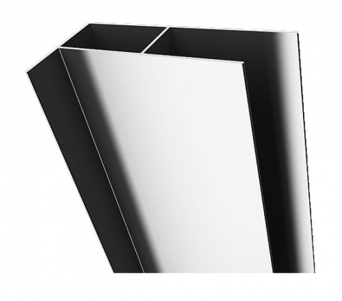 Profil aditional Radaway Premium Plus 4cm pentru montaj pe partea fixa imagine sensodays.ro