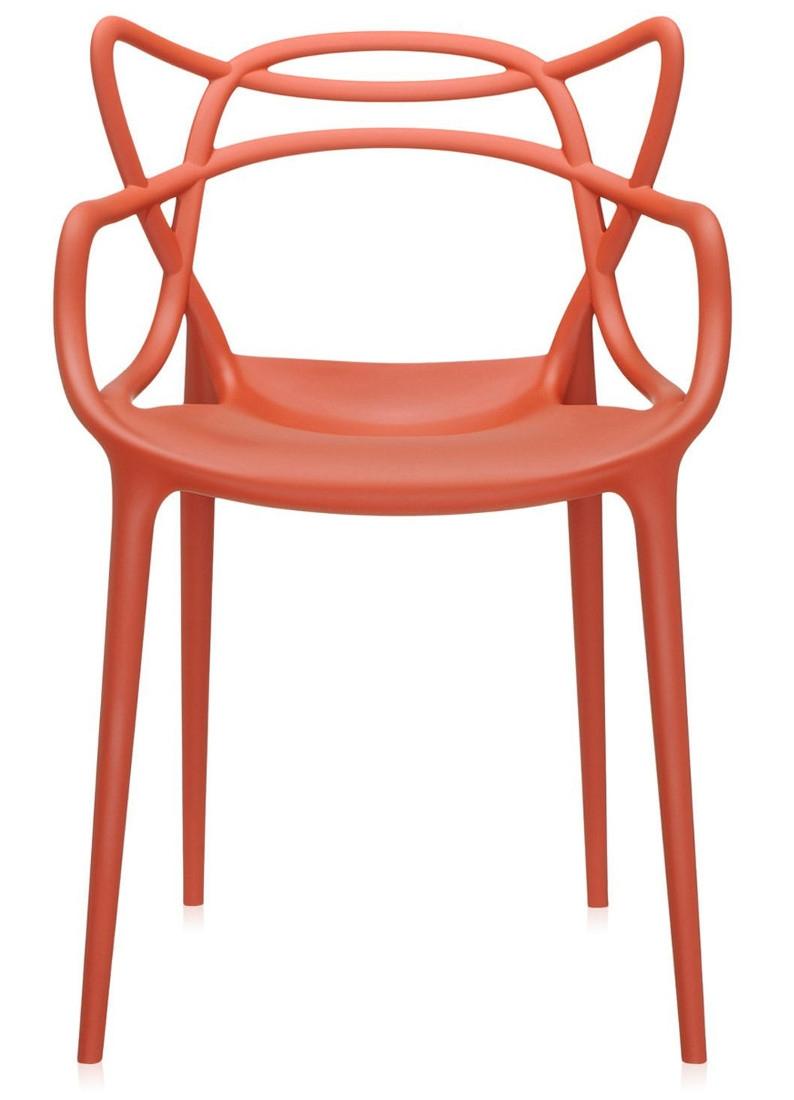 Scaun Kartell Masters design Philippe Starck & Eugeni Quitllet ruginiu