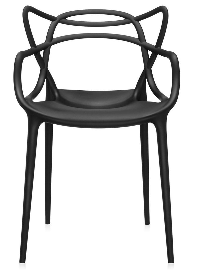 Scaun Kartell Masters design Philippe Starck & Eugeni Quitllet negru poza
