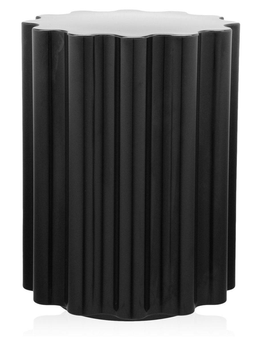 Masuta Kartell Colonna design Ettore Sottsass 34.5cm h 46cm negru poza