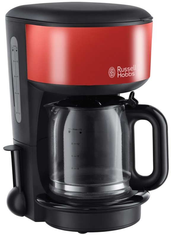 Cafetiera Russell Hobbs Colours 20131-56 1.25 litri Flame Red
