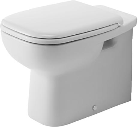 Vas WC Duravit D-Code back-to-wall pentru rezervor ingropat