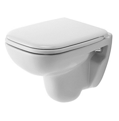 Vas WC suspendat Duravit D-Code 48 cm alb imagine sensodays.ro