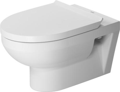 Set vas WC suspendat Duravit DuraStyle Basic Rimless si capac cu inchidere lenta imagine sensodays.ro