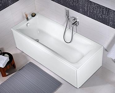 Cada baie rectangulara Kolo Rekord 170x70cm acril imagine sensodays.ro