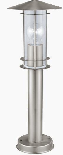 Lampadar Eglo Classic Lisio 1x 60W h 500cm Inox imagine sensodays.ro
