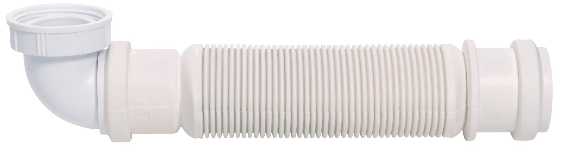 Sifon flexibil chiuveta Wirquin PRO Senzo extra-plat 1 1/2 D40 membrana antimiros poza