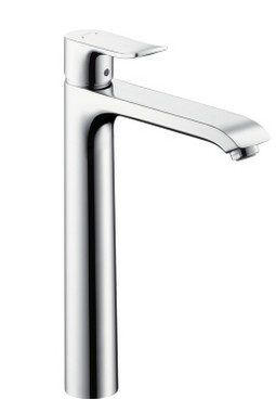 Imagine Baterie Lavoar Hansgrohe Metris 260 Ventil Pop up Pentru Lavoar