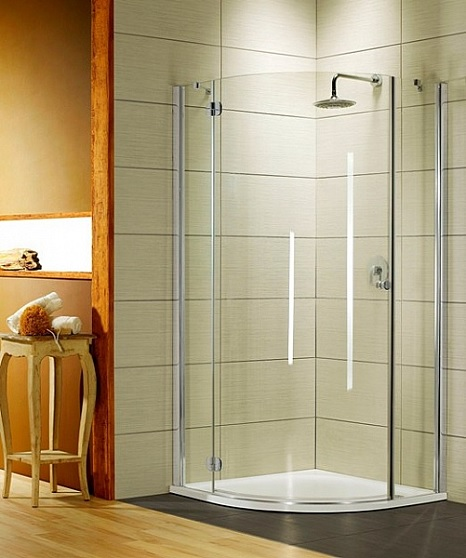 Imagine Cabina De Dus Semirotunda Radaway Torrenta Pdj 80x185 Cm Usa Deschidere Stanga