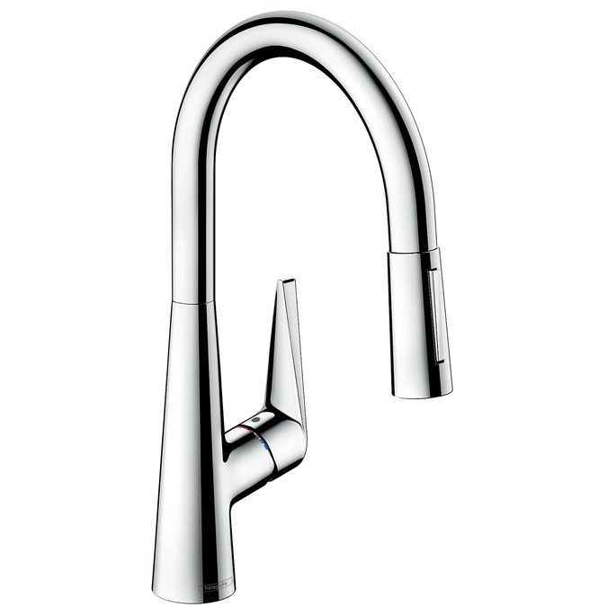 Baterie bucatarie Hansgrohe Talis S 200 dus extractibil