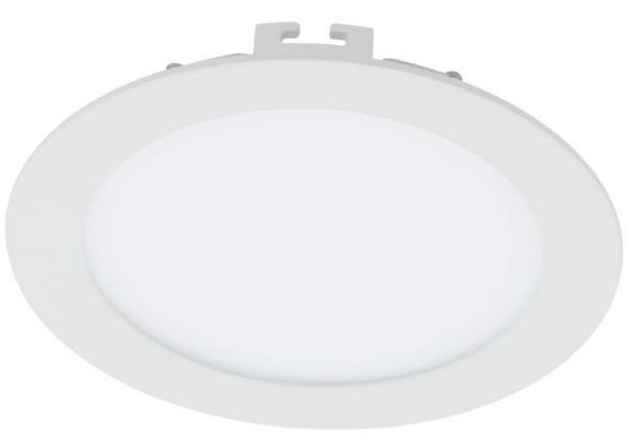 Plafoniera cu LED incastrabila Eglo Fueva 1 colectia Style 17W 2000 lm 22 5x2 5cm alb poza