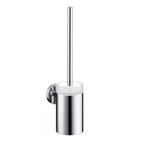 Suport cu perie wc Hansgrohe Logis crom