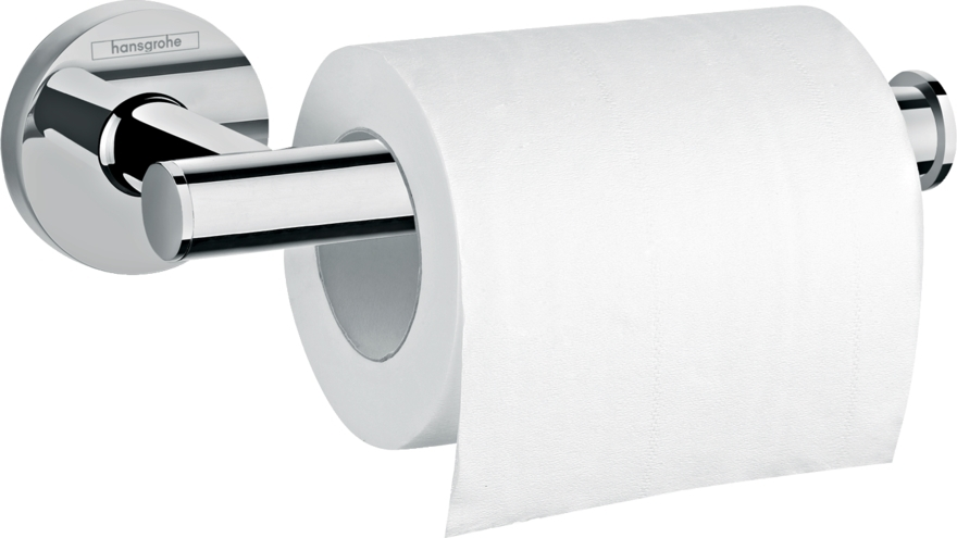 Suport hartie igienica Hansgrohe Logis Universal 148mm crom poza
