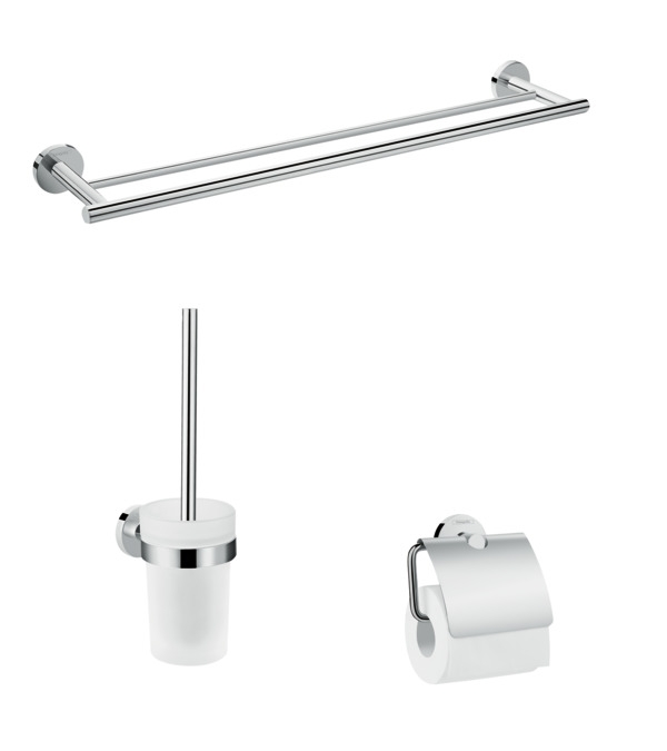 Set accesorii de baie Hansgrohe Logis Universal 3in1 poza