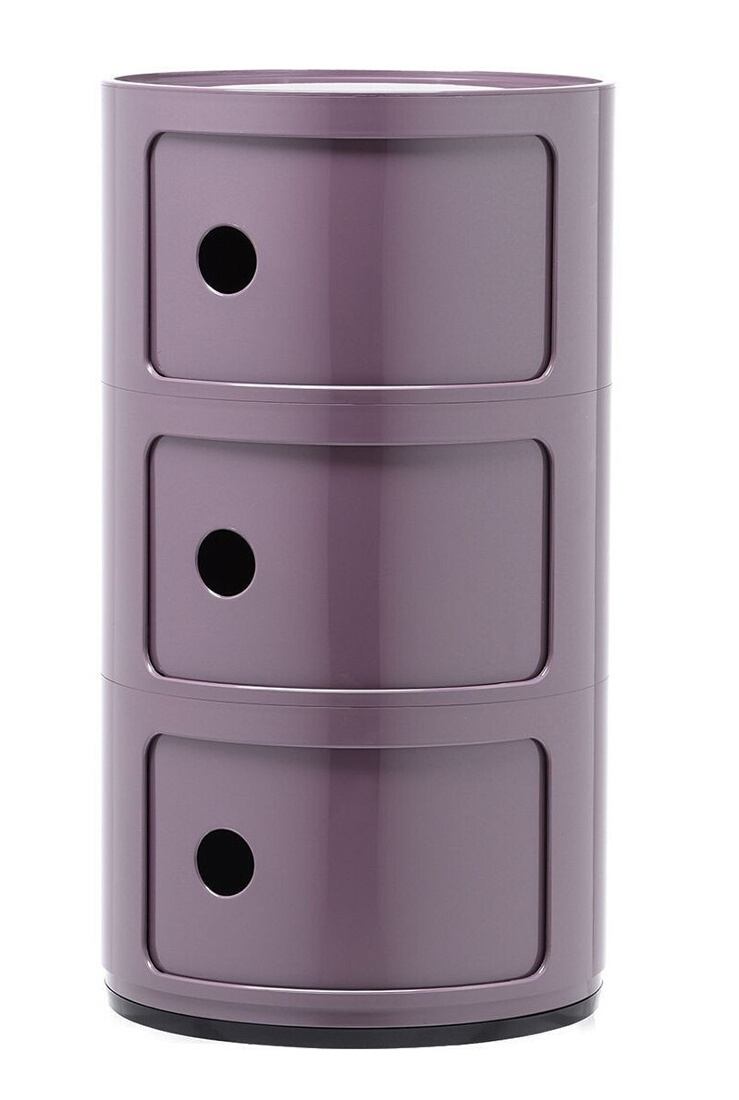 Comoda modulara Kartell Componibili 3 design Anna Castelli Ferrieri mov