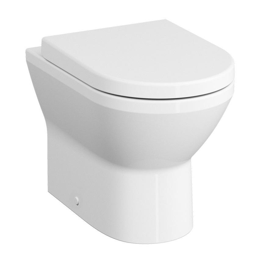 Vas WC Vitra Integra 54cm Rim-Ex pentru rezervor incastrat
