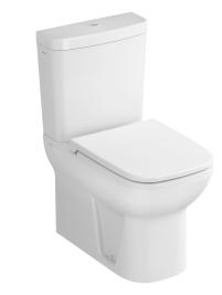 Vas WC Vitra S20 62cm back-to-wall pentru rezervor asezat poza