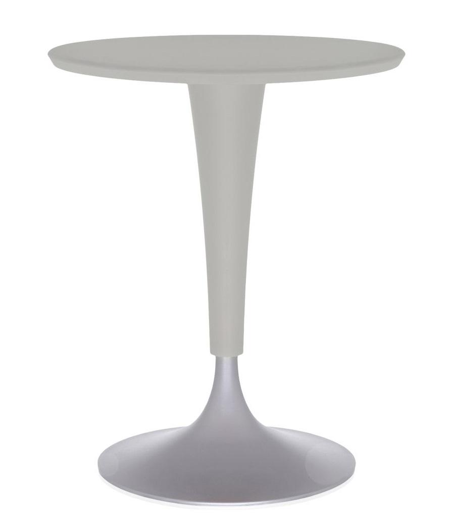 Masa Kartell Dr. NA design Philippe Starck d60cm h73cm gri poza