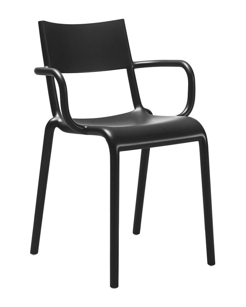 Scaun Kartell Generic A design Philippe Starck negru poza
