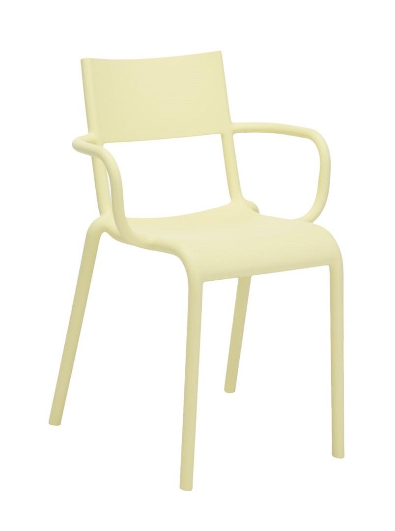 Scaun Kartell Generic A design Philippe Starck galben