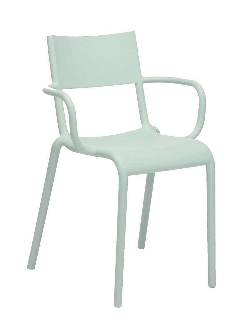 Scaun Kartell Generic A design Philippe Starck verde imagine