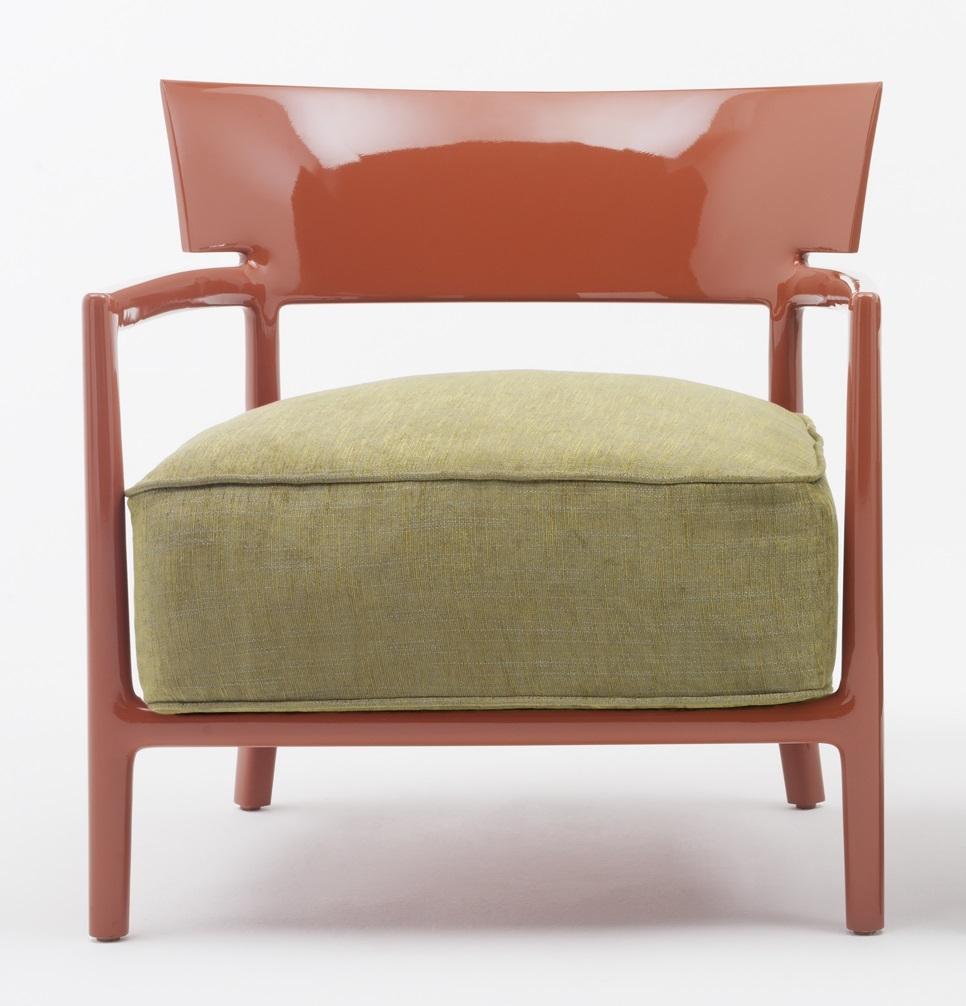 Fotoliu Kartell Cara Solid design Philippe Stark & Sergio Schito ruginiu/verde poza