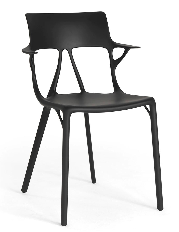 Scaun Kartell A.I. design Philippe Starck negru poza