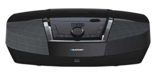 Microsistem audio Blaupunkt Boombax BB12BK CD Player tuner FM USB 2x2W Black