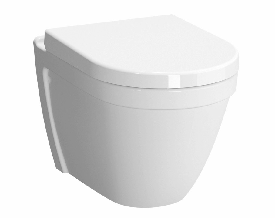 Vas WC suspendat VitrA S50 Rim-Ex cu functie de bideu prinderi ascunse poza