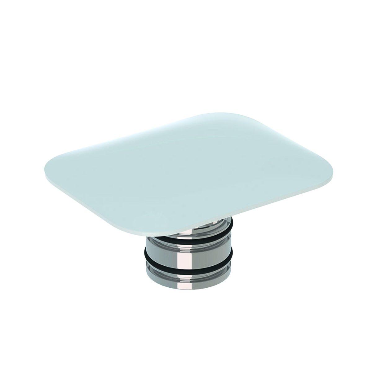 Capac ceramic cu ventil de scurgere Geberit myDay alb poza