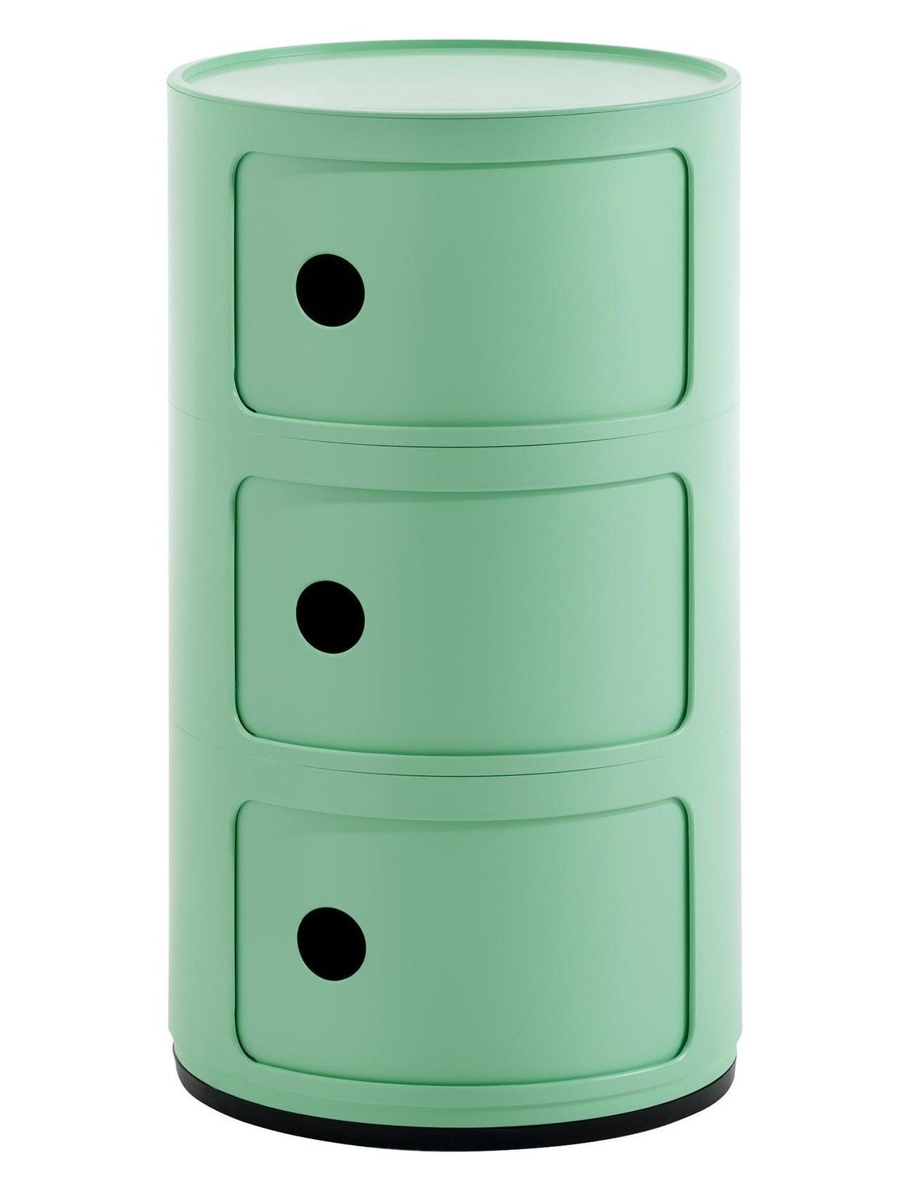 Comoda modulara Kartell Componibili Bio 3 design Anna Castelli Ferrieri verde imagine