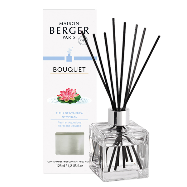 Difuzor parfum camera Berger Bouquet Parfume Cube Fleur de Nymphea 125ml poza