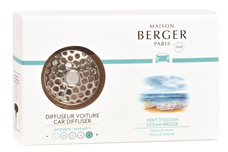 Set odorizant masina Berger Vent d'Ocean + rezerva ceramica poza