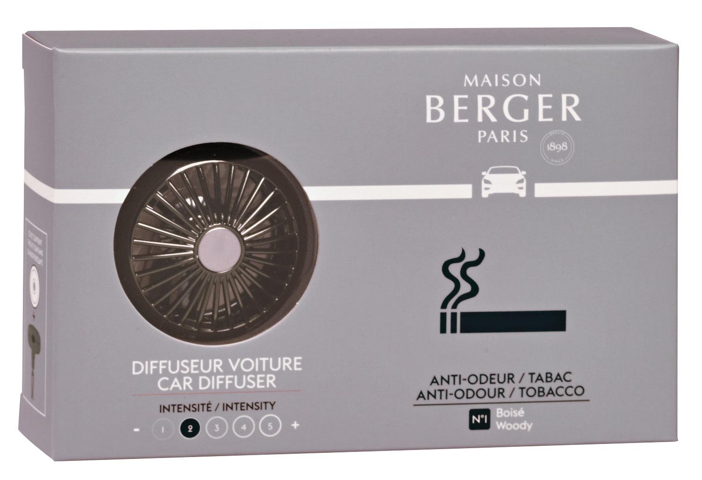 Set odorizant masina Berger Anti-Tabac + rezerva ceramica imagine