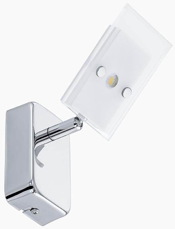 Aplica cu LED Eglo Ervas colectia Style 1x3W 7 5x10cm crom - alb imagine sensodays.ro