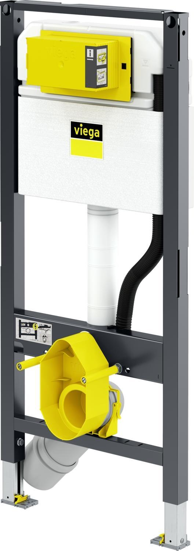 Rezervor incastrat cu cadru Viega Prevista Dry - Smart Eco imagine sensodays.ro