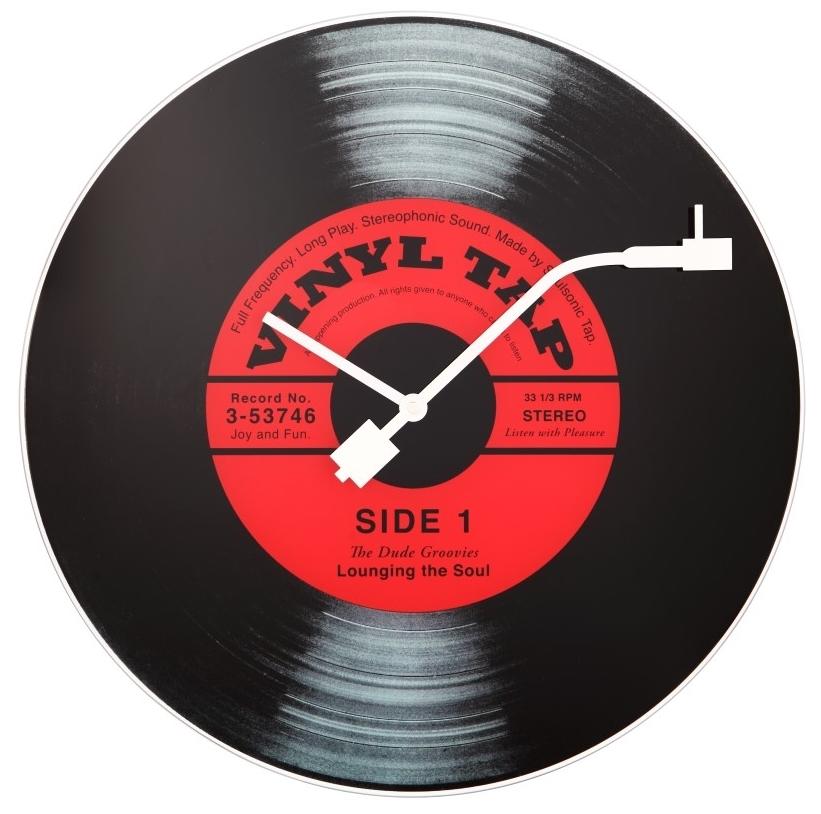 Ceas de perete NeXtime Vinyl Tap 43cm poza