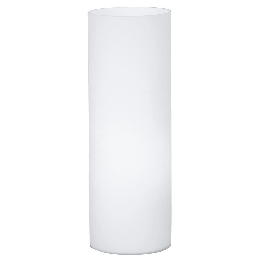 Veioza Eglo Basic Geo 1x60W h35cm alb