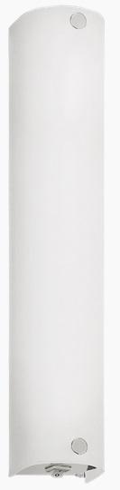 Aplica Eglo Mono 2x40W 34cm colectia Basic Crom Sticla satinata poza