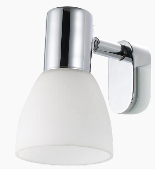 Iluminare oglinda Eglo Sticker 1x40W colectia Style Crom Sticla Opal Alba poza