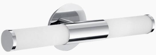 Aplica Eglo Palmera 2x40W 46cm colectia Style Crom Sticla Opal alba poza