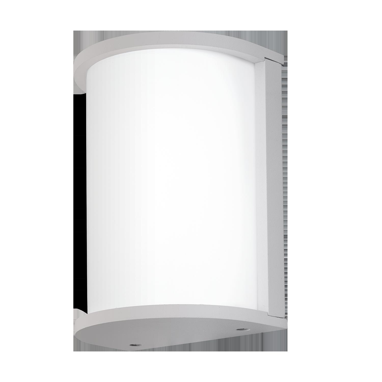 Aplica de exterior Eglo Desella 10W LED 21.5x17cm alb imagine sensodays.ro