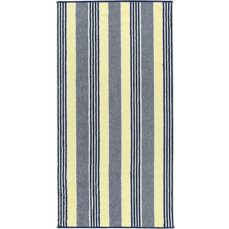 Prosop baie Cawo Maritime Stripes 70x140cm 15 galben poza
