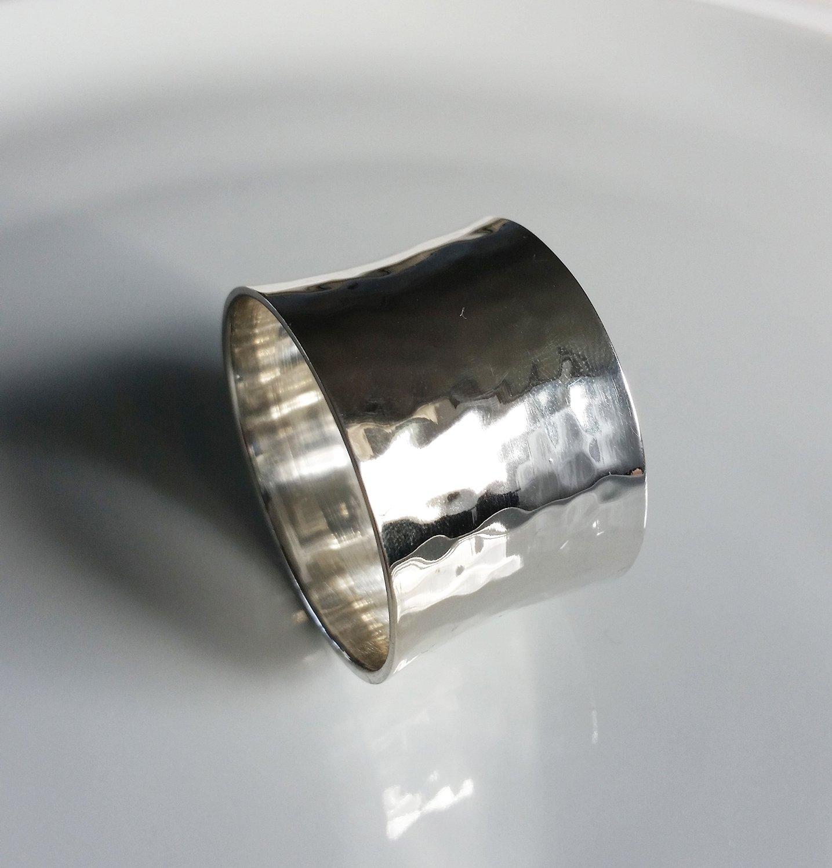 Inel pentru servet Sander Arigato diametru 5 cm 21 Silver poza