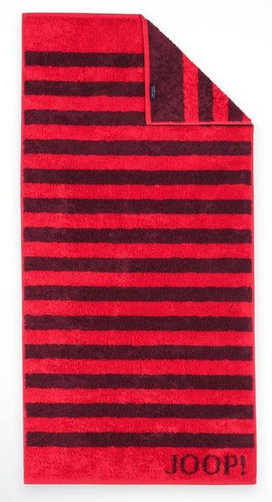 Prosop baie Joop! Classic Stripes 50x100 cm rubin poza