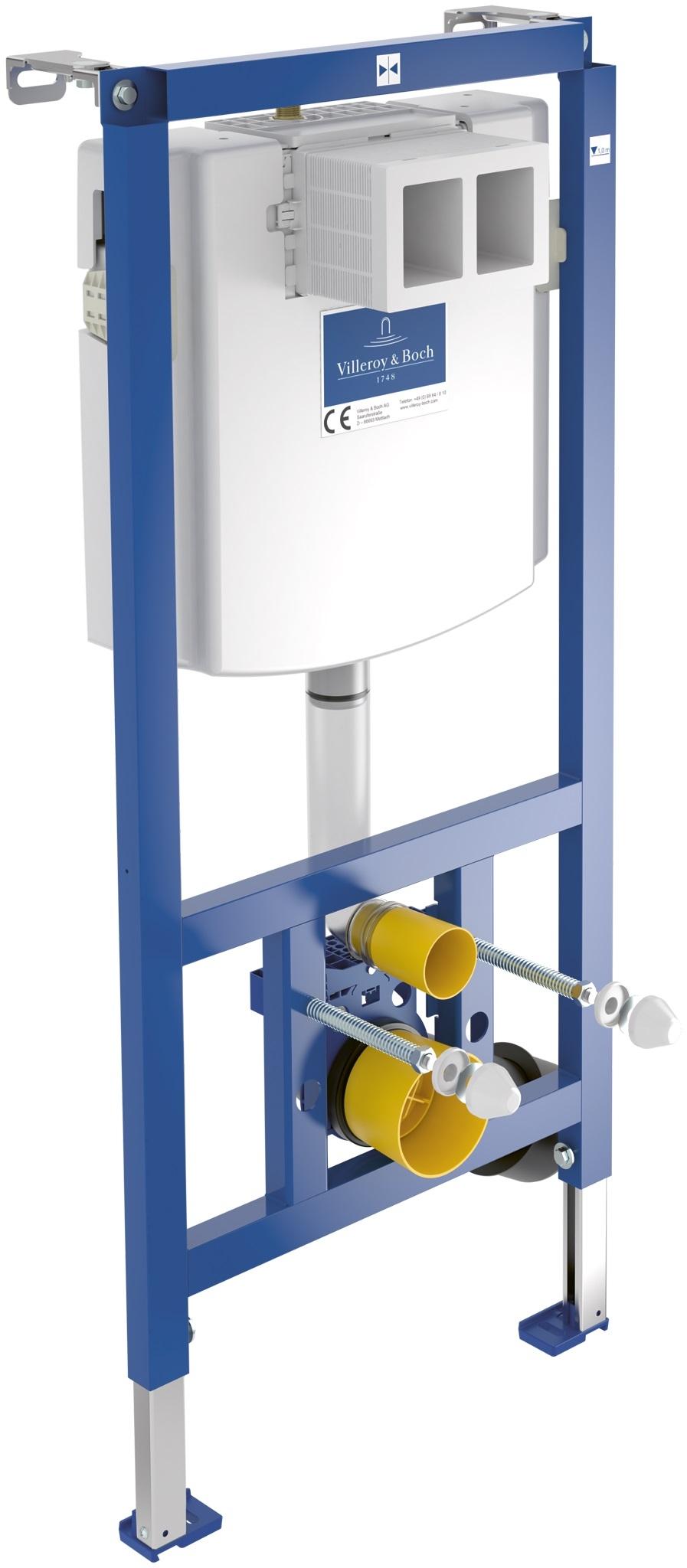Rezervor incastrat Villeroy & Boch ViConnect si cadru pentru WC suspendat imagine